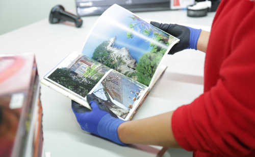 Quality control in photo book printing